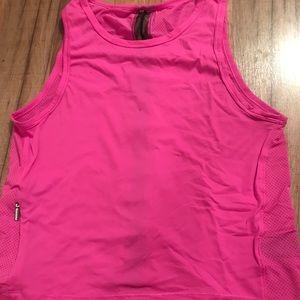 Victoria Sport pink workout tank